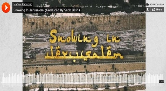 Snowing In Jerusalem