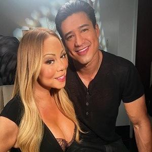 Mariah Carey Mario Lopez Extra