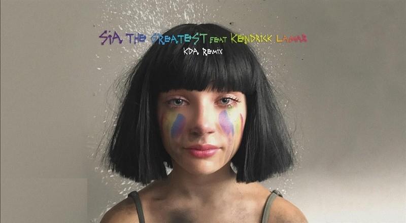 "Sia ft. Kendrick Lamar – ""The Greatest Ever (KDA Remix)""   Hip ..."