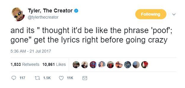 tyler the creator im not gay