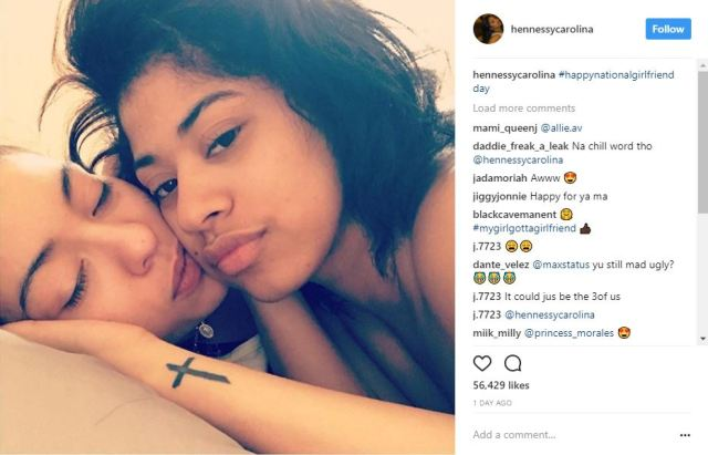 Hennessy, Cardi B's sister, shuts down the internet when she