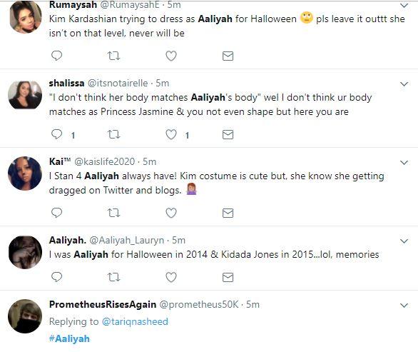 Aaliyah Fans Are Not Having Kim Kardashian Doing The