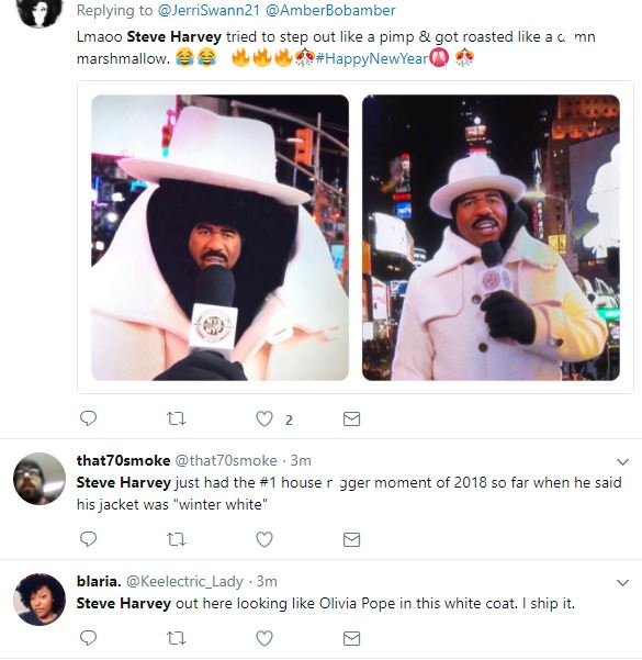 Steve Harvey never disappoints, he becomes the first meme of