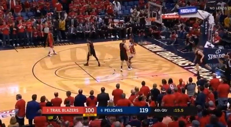 Portland Trail Blazers Vs. New Orleans Pelicans / Full Game Highlights / Game 3 / 2018 NBA ...