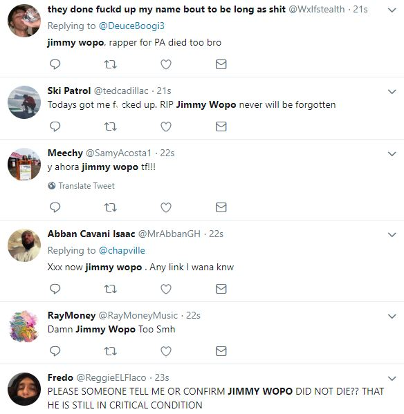 RIP Jimmy Wopo: Twitter reacts to the death of Jimmy Wopo, confirmed by Hardo, hours after ...