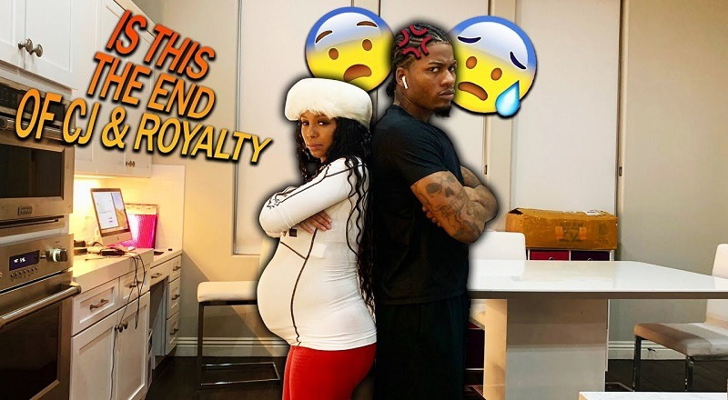 CJ So Cool Caught Cheating On Royalty! - YouTube