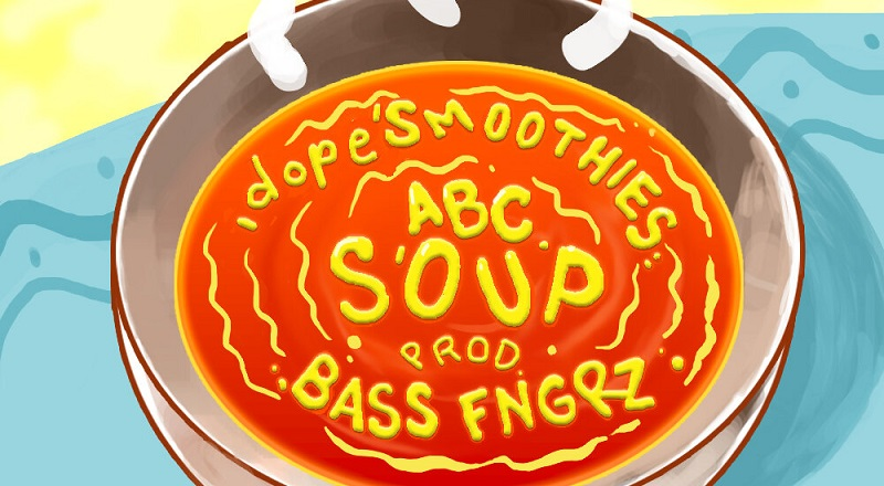 "dopeSMOOTHIES returns with his single, ""ABC Soup,"" following his viral success."