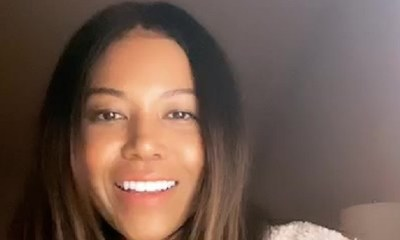 Amerie acknowledges the longtime Twitter meme about her and Kourtney Kardashian looking alike. She agrees with this, but points out how neither of them resembles the other's sisters.