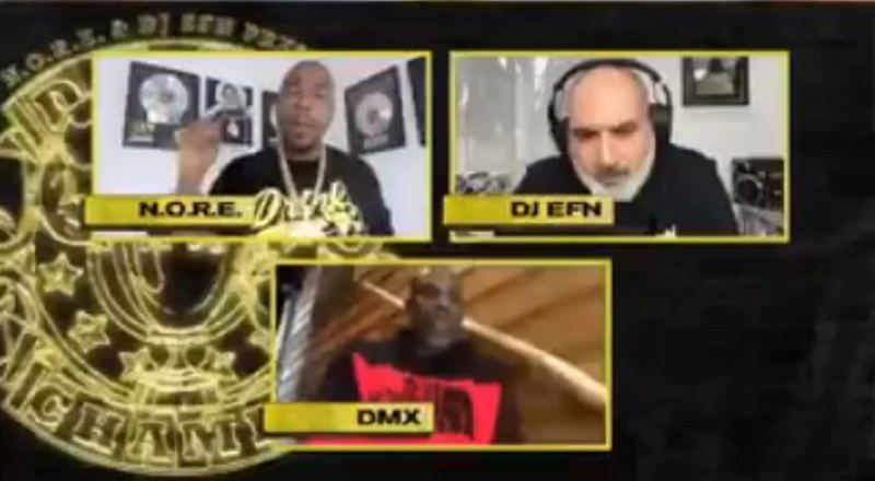 "DMX went on ""Drink Champs,"" interviewing with N.O.R.E. and DJ EFN. During their conversation, DMX was asked about who he would battle on Versuz. The Yonkers rapper said Jay-Z is the rapper that he would want to battle."