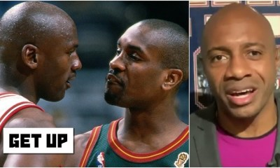 Jay Williams reacts to Michael Jordan laughing at Gary Payton, when he talked about how well he guarded Jordan, in Games 4 and 5 of the 1996 NBA Finals, when Jordan's Bulls defeated Payton's Sonics, in six games.