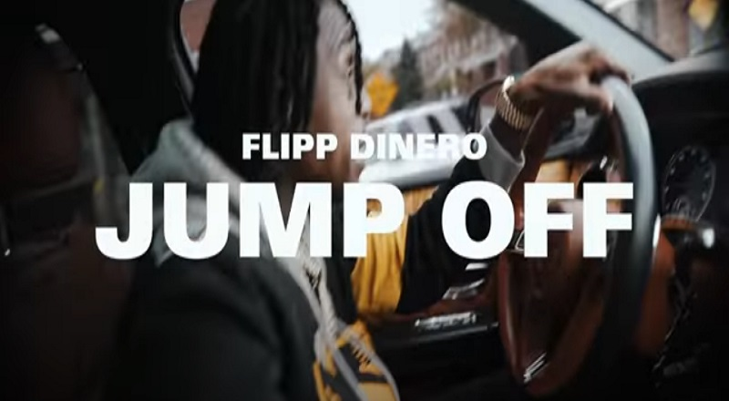 "Flipp Dinero releases""Jump Off"" music video."