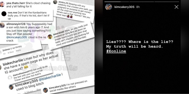 Kimberly Alexander responds to social media backlash, accusing her of lying. Almost everybody who came for her, in her IG comments, accusing her of lying, she clapped back on. Then, she went on her IG Story to question where she lied at.