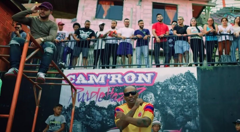 "Cam'ron releases music video for ""Medellin,"" off ""Purple Haze 2"" album."