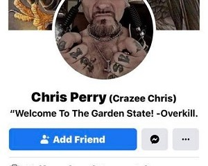 """Chris Perry is a tattoo artist at Insane Ink, in New Jersey. Like the rest of the world, he's witnessed the police killings, and the protests. The tattoo artist is decidedly against the people, saying """"f*ck Black Lives,"""" and all of the """"n*gger loving"""" supporters."""
