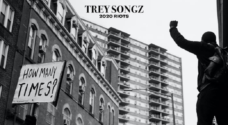 "Trey Songz joins the protest, releasing his ""How Many Times"" single, adding to the good fight."