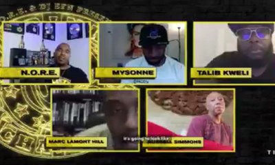 Russell Simmons being on the latest episode of Drink Champs rubbed many the wrong way. A documentary was produced about him and his alleged sexual harassment and people are still highly upset with him. The backlash was so strong that TIDAL deleted the tweet, and Marc Lamont Hill addressed it, saying he didn't originally know he was on the episode with Simmons, and asked TIDAL not to air his part, and that he stands with the women who accused him.