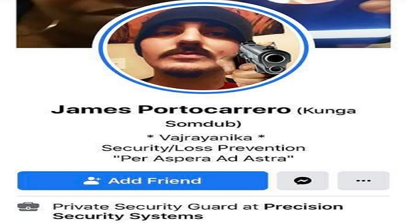 "James Portocarroro is a Private Security Guard for Precision Security Systems. While not quite law enforcement, his job is to protect the public, ALL of the public that is at his place of employment. But, James has a strong racist streak, going on Facebook and calling black people ""n******,"" and saying the push for equality is black people being jealous about being racially inferior, wanting to be the ones to crack the whip, and that jealousy making them butthurt, so they shoot people, and burn down buildings."