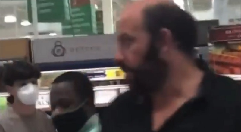 "A white man, in an Atlanta Publix, was going off on the people around him. The man was trying to have a sandwich fixed, but he kept hurling racial slurs, so presumably, his sandwich was never prepared. Berating a black woman, the man told her ""it's not my fault you're a n*gger.'"