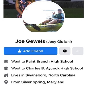 """Joe Gewels, an assistant manager of a Jacksonville, North Carolina-area Dollar General is a part of a yard sale Facebook group. A member of the group shared a photo of people protesting, at an intersection. Gewels would comment that they are better than the ANTIFA """"thug a** losers,"""" also calling them monkeys, accusing them of looting and burning down buildings."""