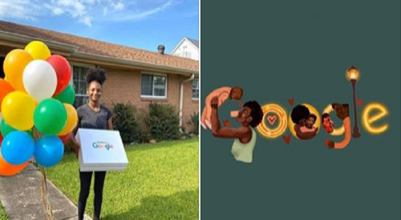 Johnny Perez does not know Morrah Burton-Edwards, but he is supporting her cause. This young woman is currently a finalist in a drawing competition for Google. If she wins this competition, for which she needs plenty of votes, Morrah wins a $30,000 college scholarship.