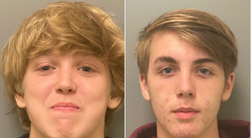 In Marion County, Florida, two young men, Clayton Pinkerton, and Zachary Sullivan, were arrested for possession of a homemade explosion device. A Marion County Sheriff Department officer spotted the kids with the device, which they planned to detonate, and arrested them, as their possession was a felony. Later, the children were released into the custody of their parents. Florida is the whole reason the Black Lives Matter movement even began, after the injustice of Trayvon Martin's death, and since then, several other black men have been killed for no reason, including Salaythis Melvin, in Orlando, just an hour away from Marion County, and the police killed him believing he was someone else.