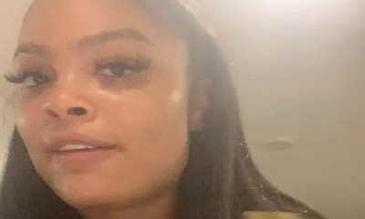 """Meghan James, formerly of """"Basketball Wives,"""" shared a horrifying story, in an Instagram video. She revealed she was attacked by her Lyft driver. Left without a ride, she was picked up by @courtneymanatee's family, whom she thanked, meanwhile she shared Sergio's info on her IG profile."""