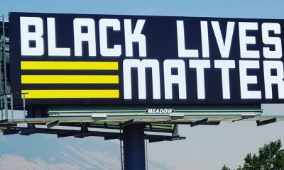 "Maria PistolWhiplash Carmichael decided to do something to further the BLM cause. She is a native of Oregon, which is the home of Portland, where protests have turned violent, and people are fighting military police. Long before that, Maria launched a fund going towards purchasing a billboard to place ""Black Lives Matter"" on it. Finally, the billboard has come to light, and she is showing it off on Facebook, where it's been well-received."