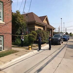 Dearborn, Michigan police officer, a fifteen year veteran, shot and killed a man who was repeatedly stabbing his girlfriend. The police officer did what he had to do to save the woman's life, she is 39-years-old. Meanwhile, the man, aged 43, was shot repeatedly, and died on the scene.
