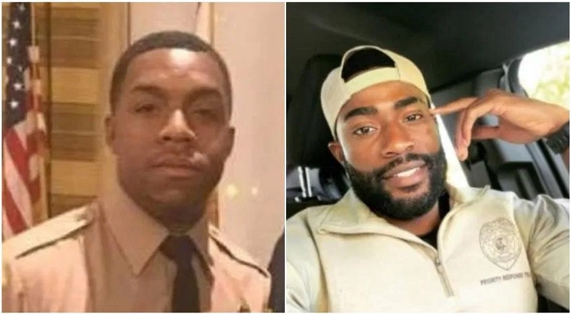 "Keith Edwards (left) and Roderick Flowers (right) were arrested by the DEA, in Miami, accused of being involved in drug trafficking. The two men are cops, themselves, and are accused of being set up by a source working with DEA agents posing as members of the Mexican cartel. Accused of helping, as muscle, as the drug deal, which consisted of (fake) cocaine, as the whole deal was arranged by DEA agents, one of whom allegedly told the officers ""Welcome to the Sinaloa cartel,"" and claims the men laughed, as they drove off."