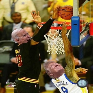 LeBron James has been embroiled in a public feud, with President Donald Trump, since the summer of 2017. As the years have gone on, Trump has become increasingly hostile towards the NBA superstar. On social media, following the confirmation of Joe Biden defeating Donald Trump, James relived his 2016 NBA Finals block, against Andre Iguodala, reimagined, with Biden's face on his own body, and Trump's face on Iguodala's body.