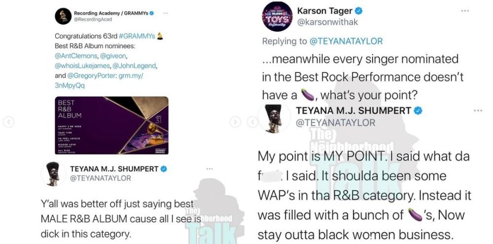 Teyana Taylor Karson Tager