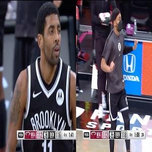 Big 3 Nets beat Miami Heat