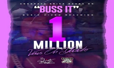 Erica Banks Buss It 12 Apple Music 1 million on YouTube