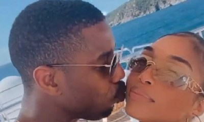 Michael B. Jordan Lori Harvey vacation baecation