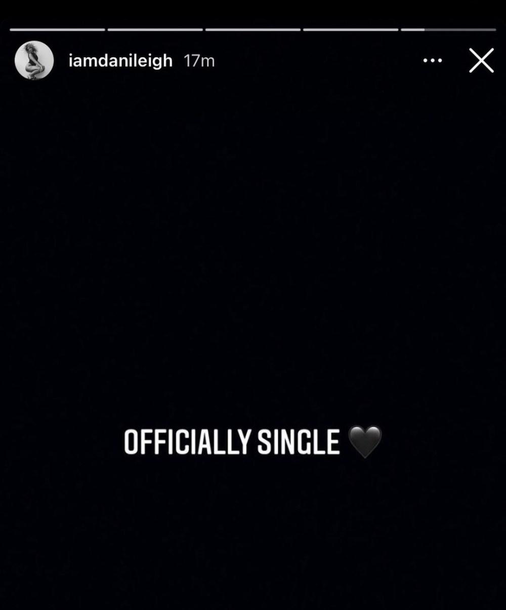 DaniLeigh Officially Single DaBaby