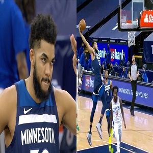 Karl-Anthony Towns returns Timberwolves Clippers Twitter