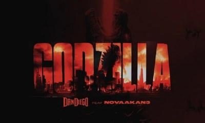 Dan Diego new single Godzilla