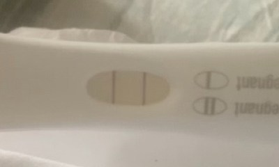 Jhonni Blaze Pregnancy Test on Instagram
