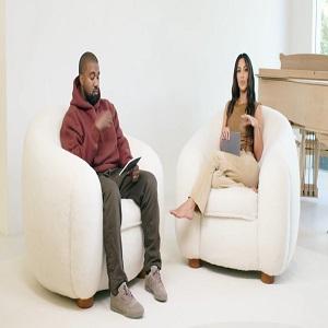 Kanye West cut Kim Kardashian off divorce papers communicate via security