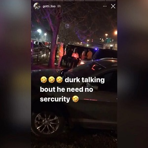 Lil Durk shooting one person dead