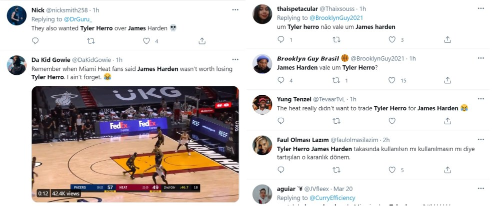Tyler Herro James Harden Miami Heat trade