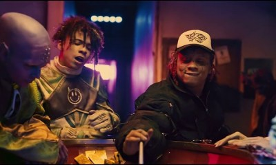 iann dior Trippie Redd shots in the dark music video