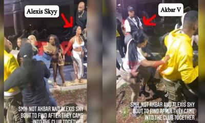 Alexis Sky Akbar V fight