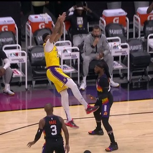 Damn AD Anthony Davis kicks Andre Drummond in the nuts