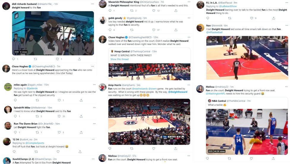 Dwight Howard Wizards Sixers fan
