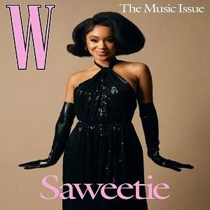 Saweetie W magazine