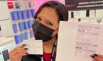 T-Mobile employee selling fake COVID vaccination cards at work
