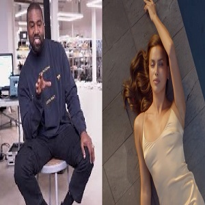 Kanye West is reportedly getting serious with Irina Shayk