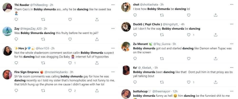 Bobby Shmurda dancing on Instagram