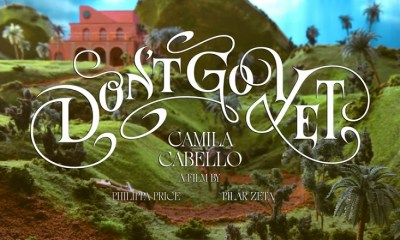 Camila Cabello Don't Go Yet music video
